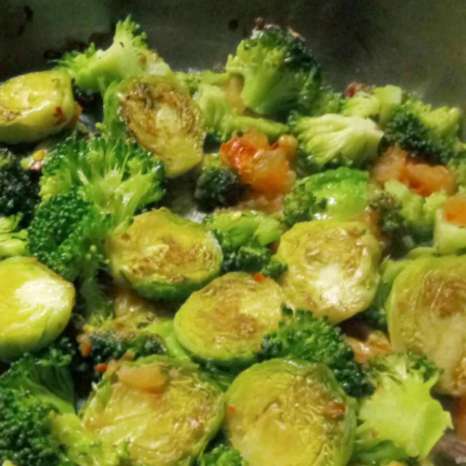 Broccoli and Brussels Sprout Delight Bud Mcmellen