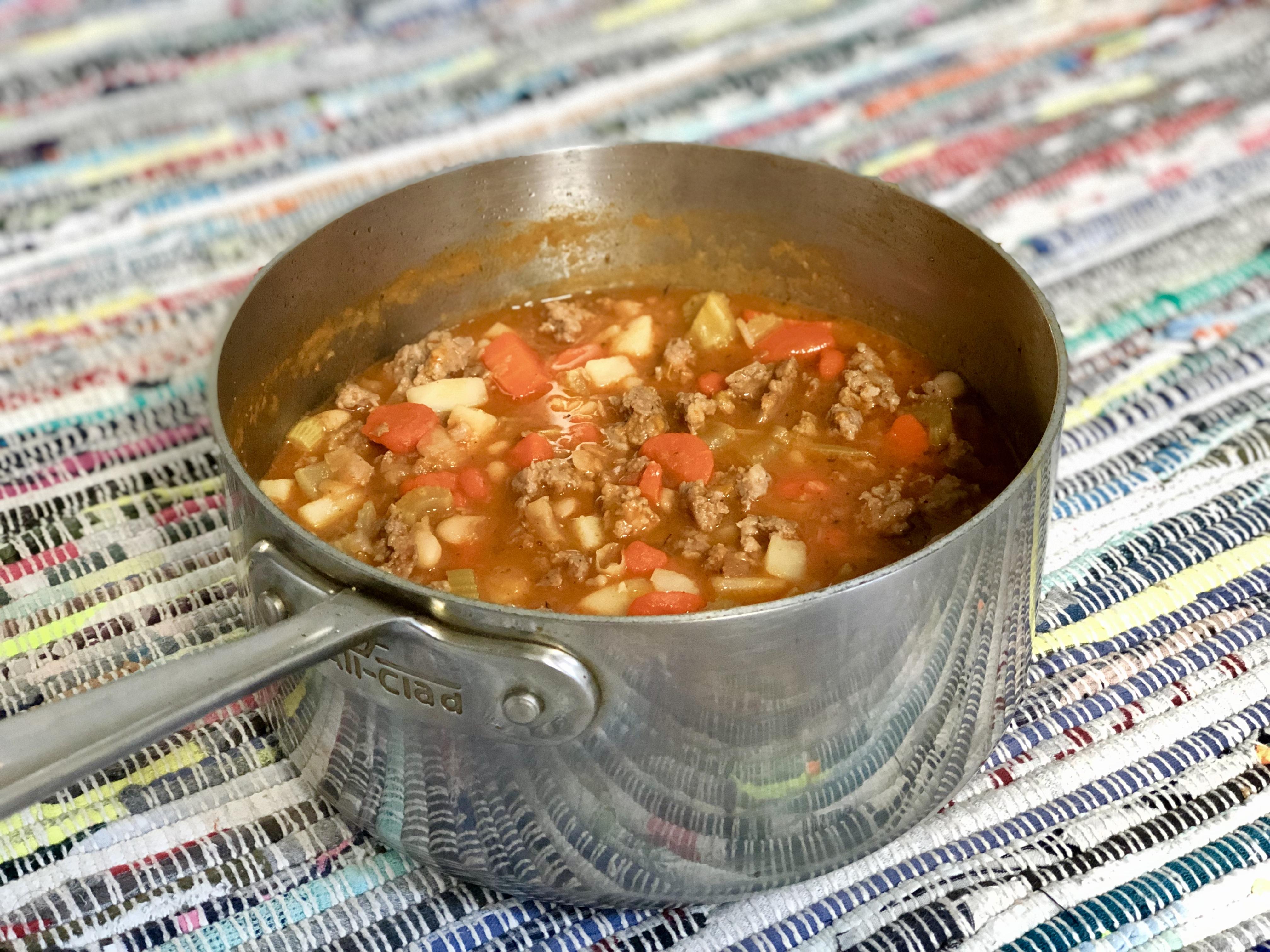 Hearty Italian Sausage Soup