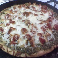Chicken Pesto Pizza Drew