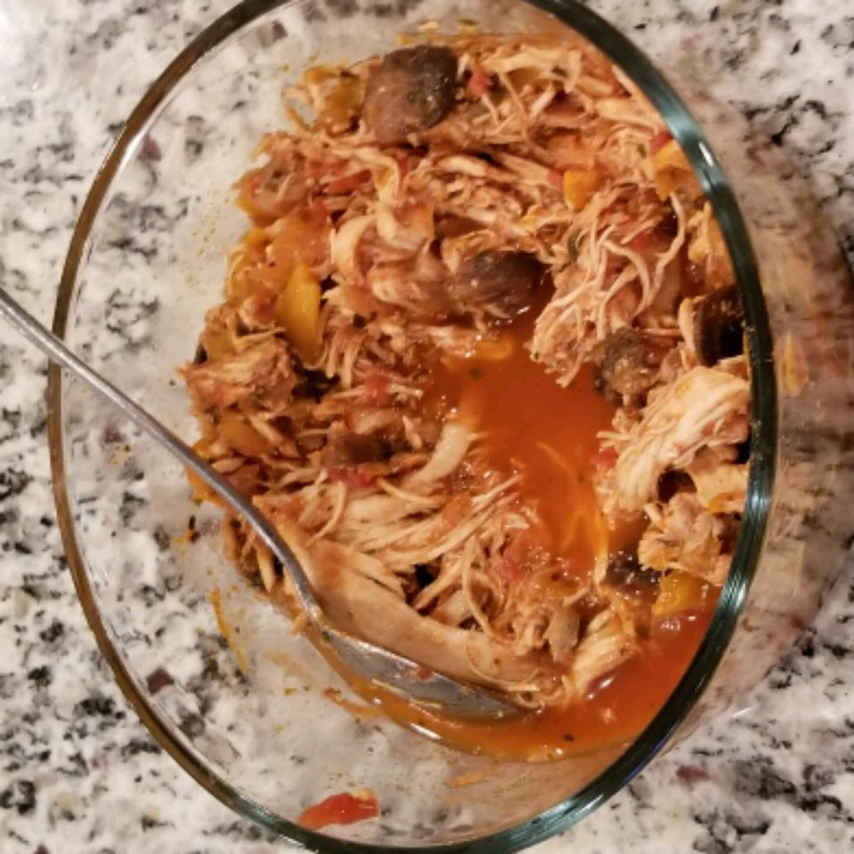 Slow Cooker Chicken Cacciatore Kyle Brock