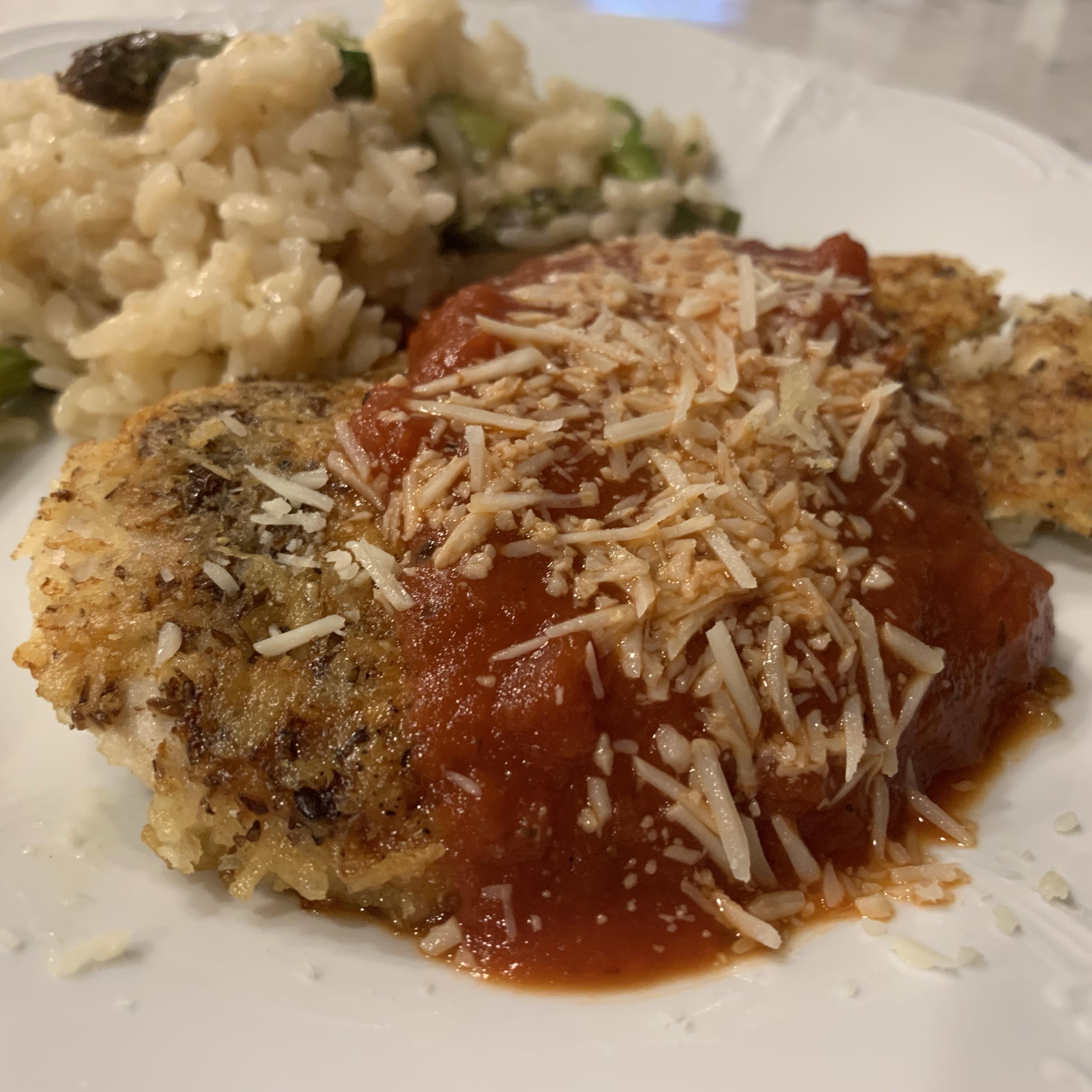 Homemade Chicken Parmigiana Amy Rathbone Wellenkamp