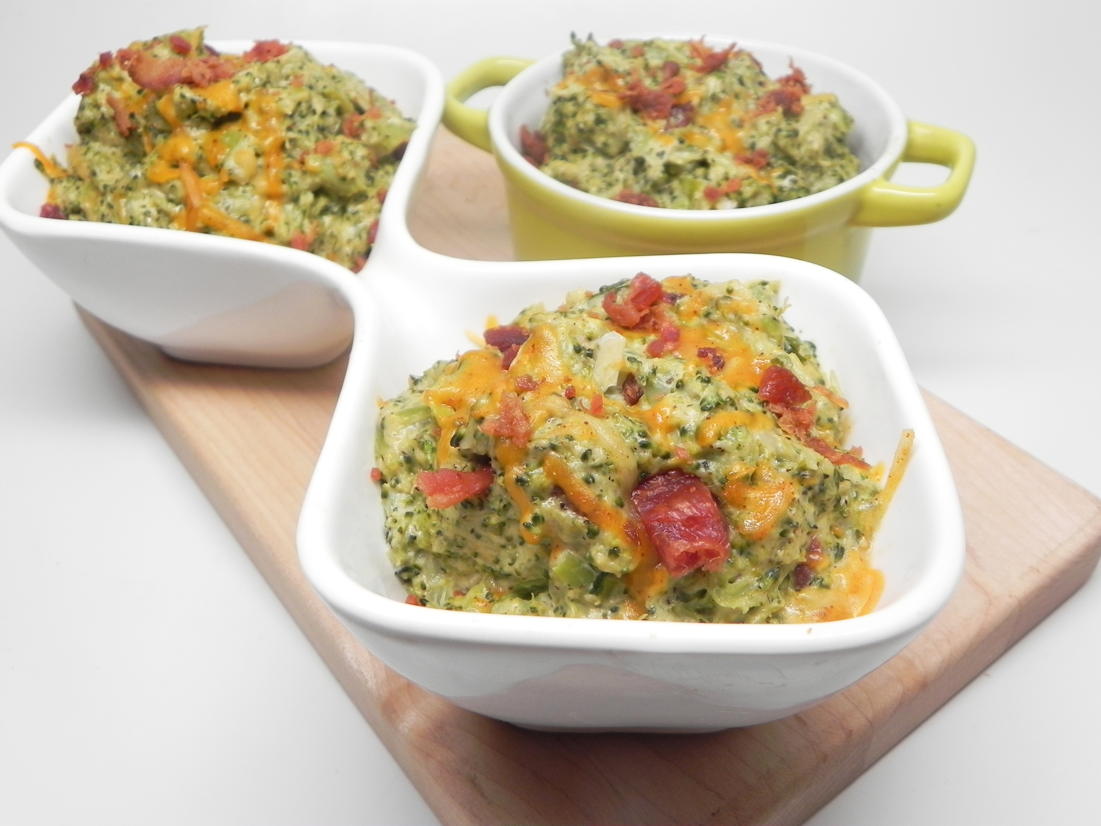 Instant Pot(R) Loaded Broccoli Mash
