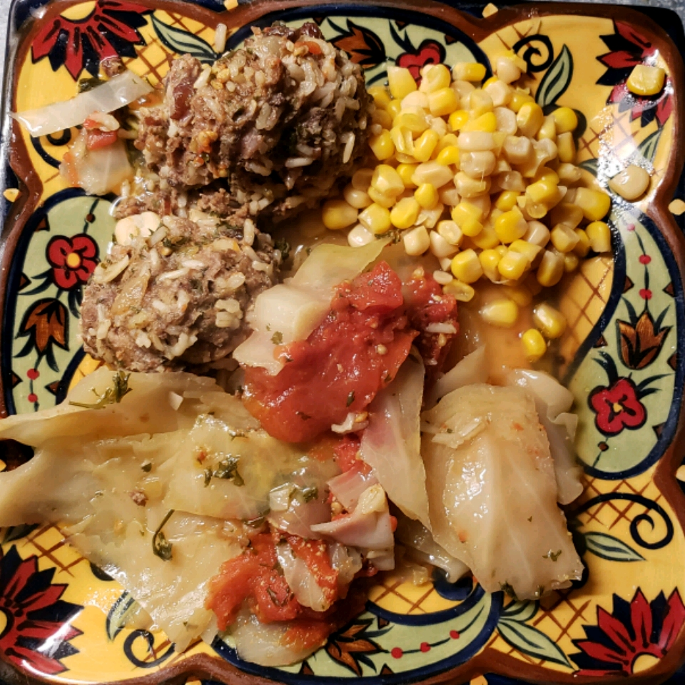 Lamb and Rice Stuffed Cabbage Rolls Debbie Venus-Fenrich