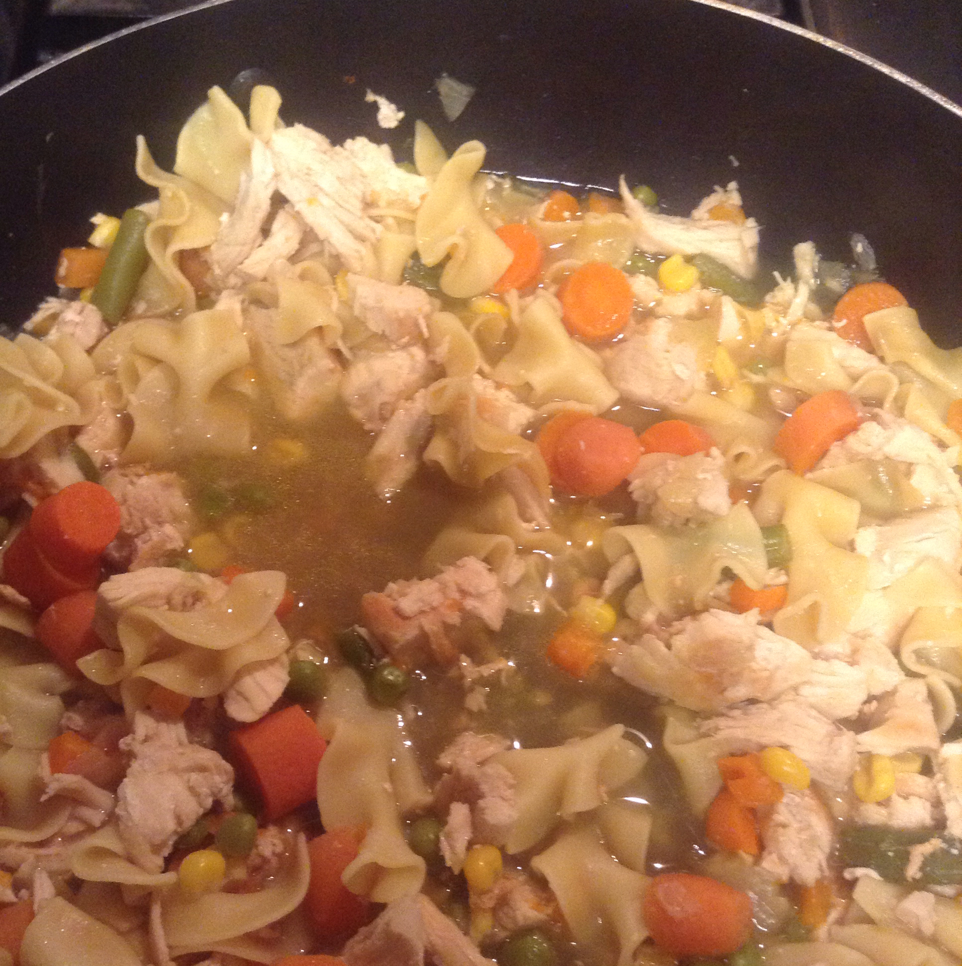 Grilled Chicken Noodle Soup Cyndi