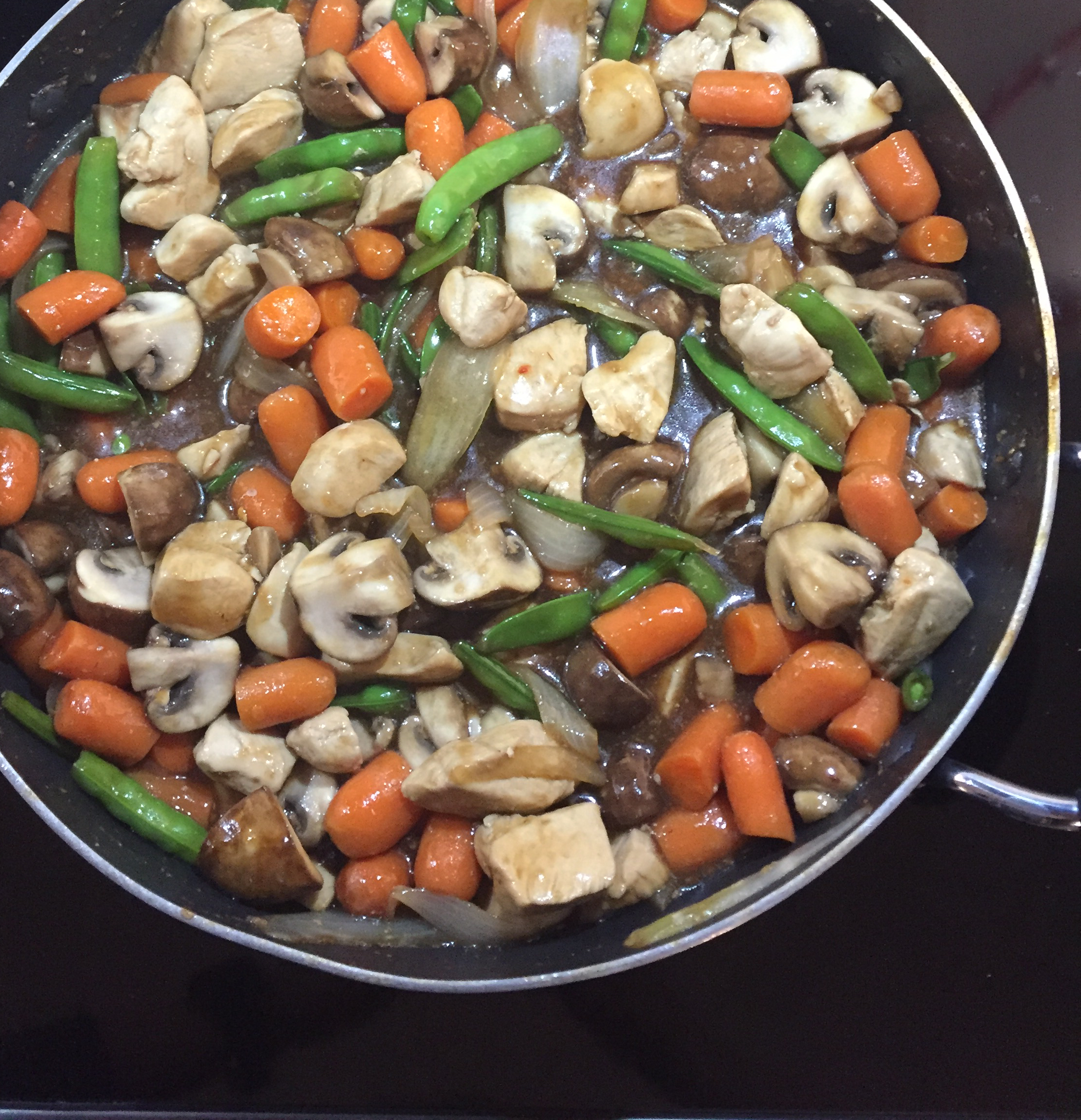 Stir-Fry Chicken and Vegetable Delight Mazola