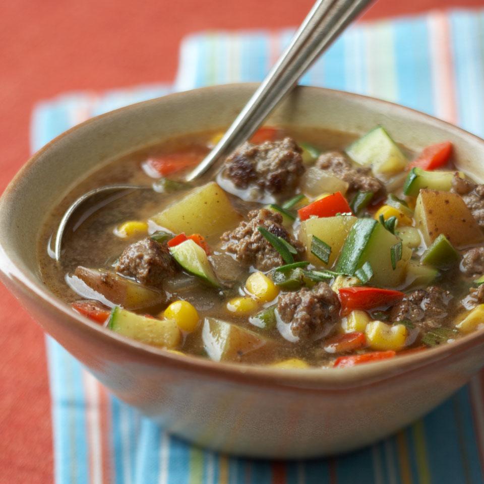 Buffalo Vegetable Soup Diabetic Living Magazine