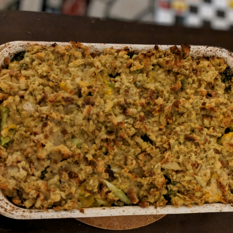Cheesy Chicken & Broccoli Bake Sam Robison