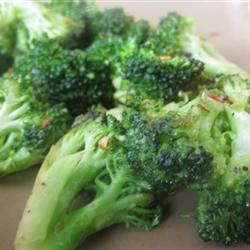 Bright and Zesty Broccoli mommyluvs2cook