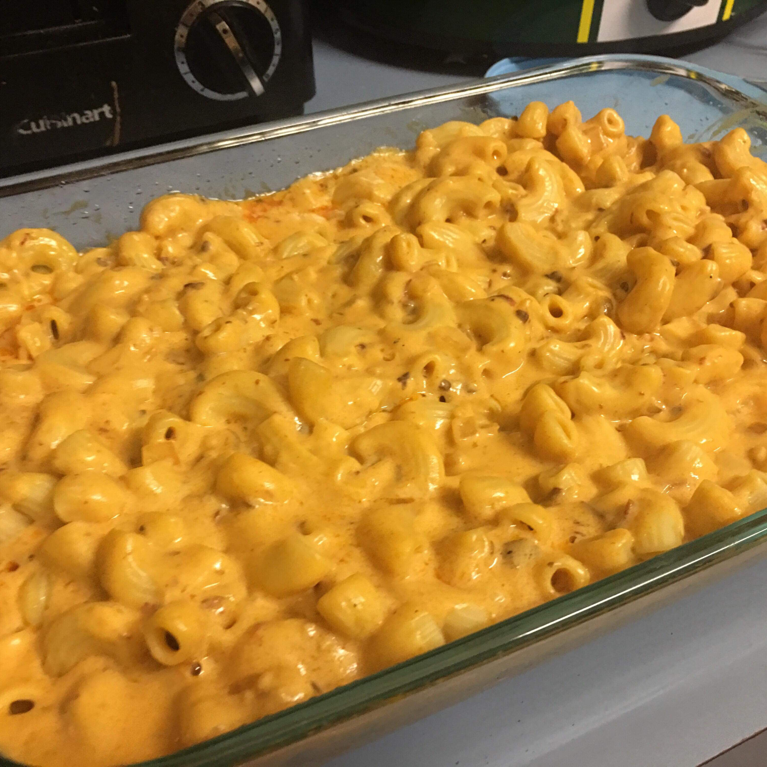 Chipotle Mac and Cheese Rieley James Ped