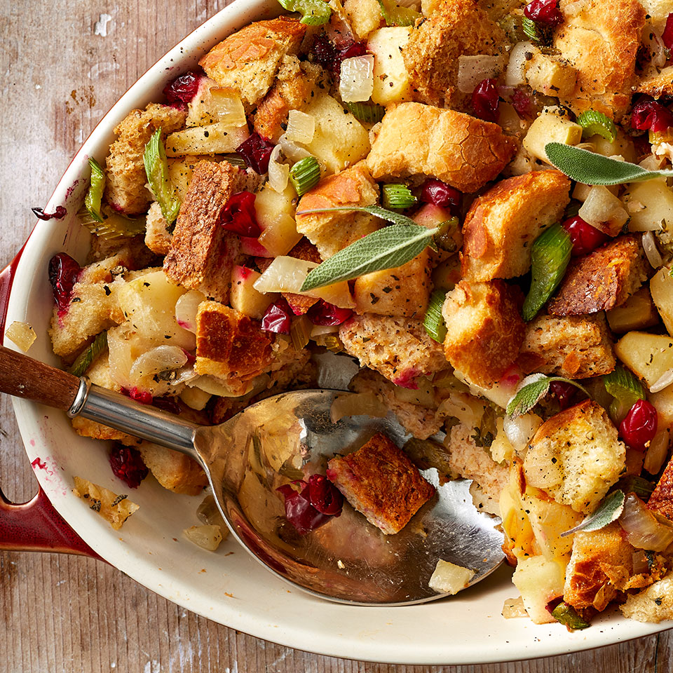 Apple, Onion & Cranberry Stuffing