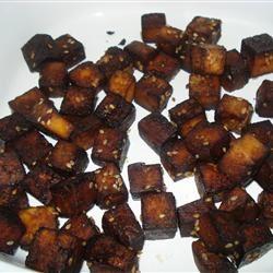 Baked Tofu Bites gurl_cbl