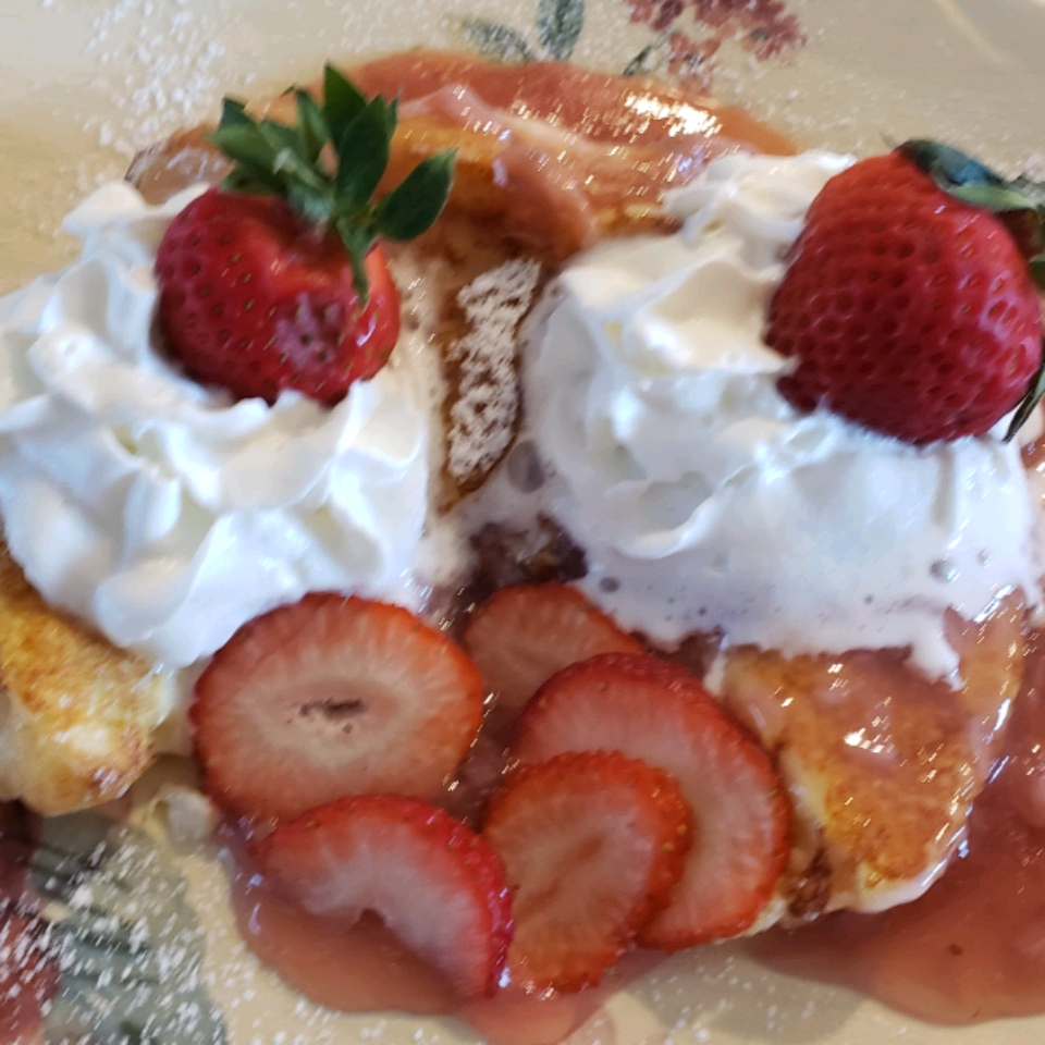 Strawberry Cheesecake French Toast