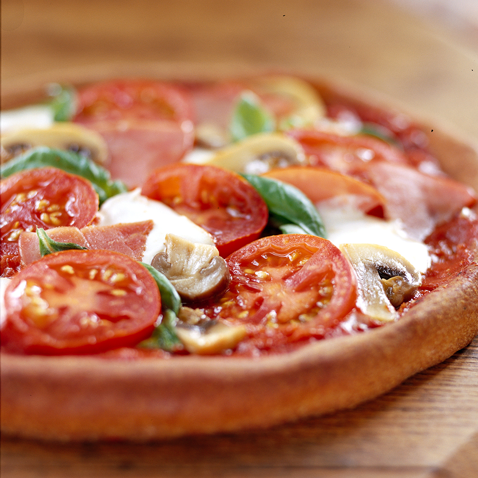 Whole-Wheat Pizza with the Works Diabetic Living Magazine