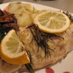 Easy Garlic and Rosemary Chicken