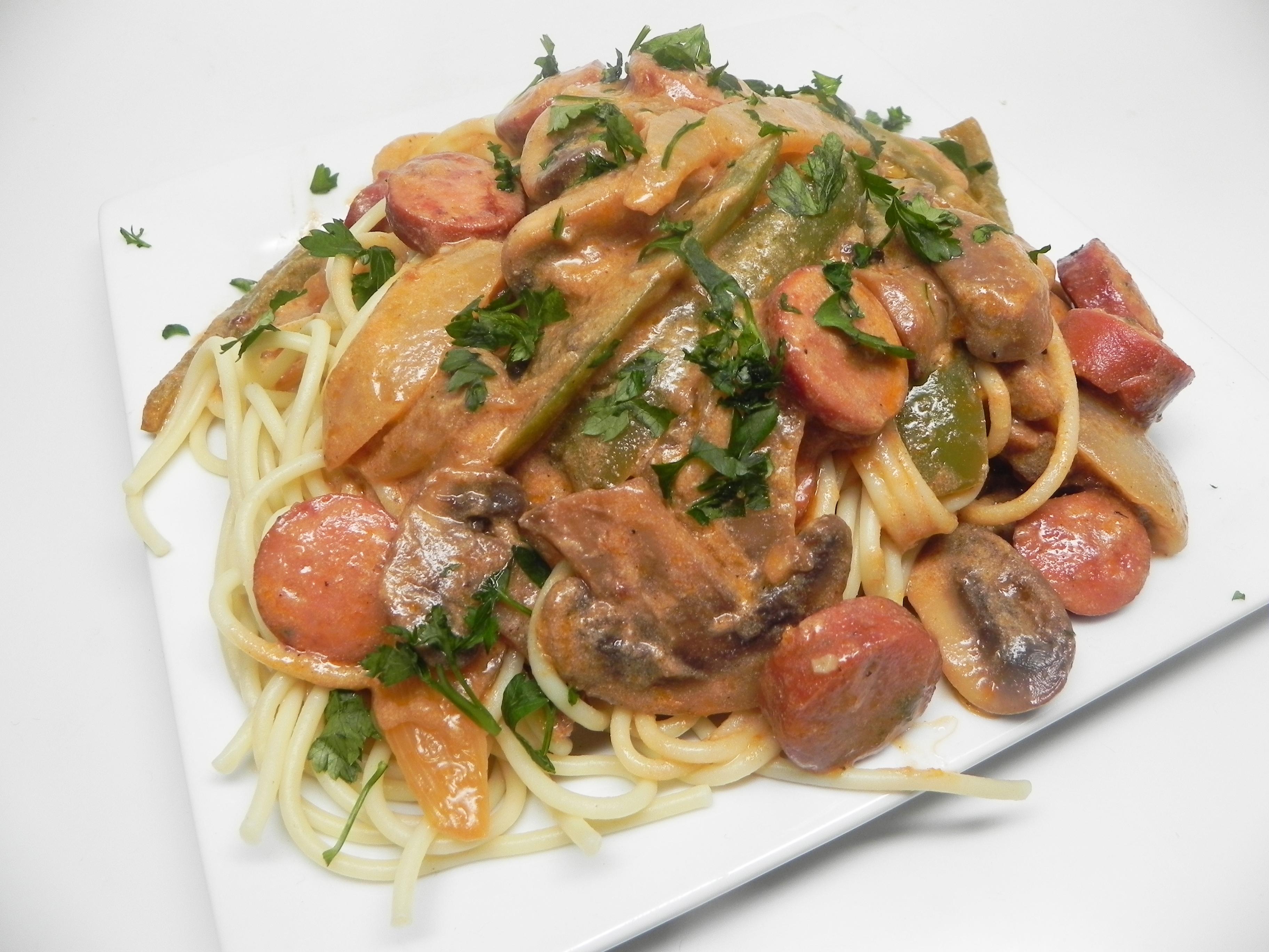 Spaghetti Napolitan Naporitan Recipe Allrecipes