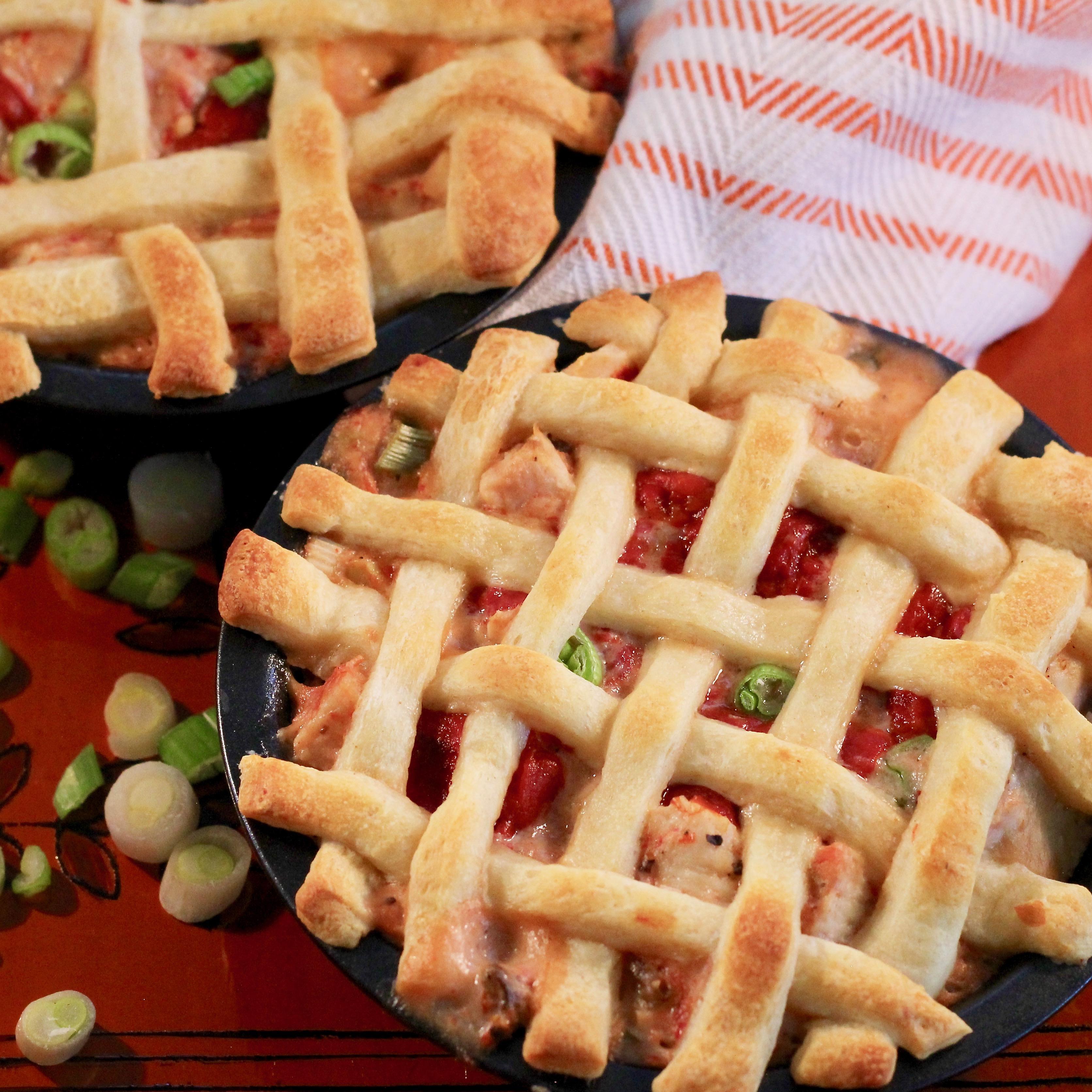 Lattice Chicken and Peppers Pie Jennifer Murray