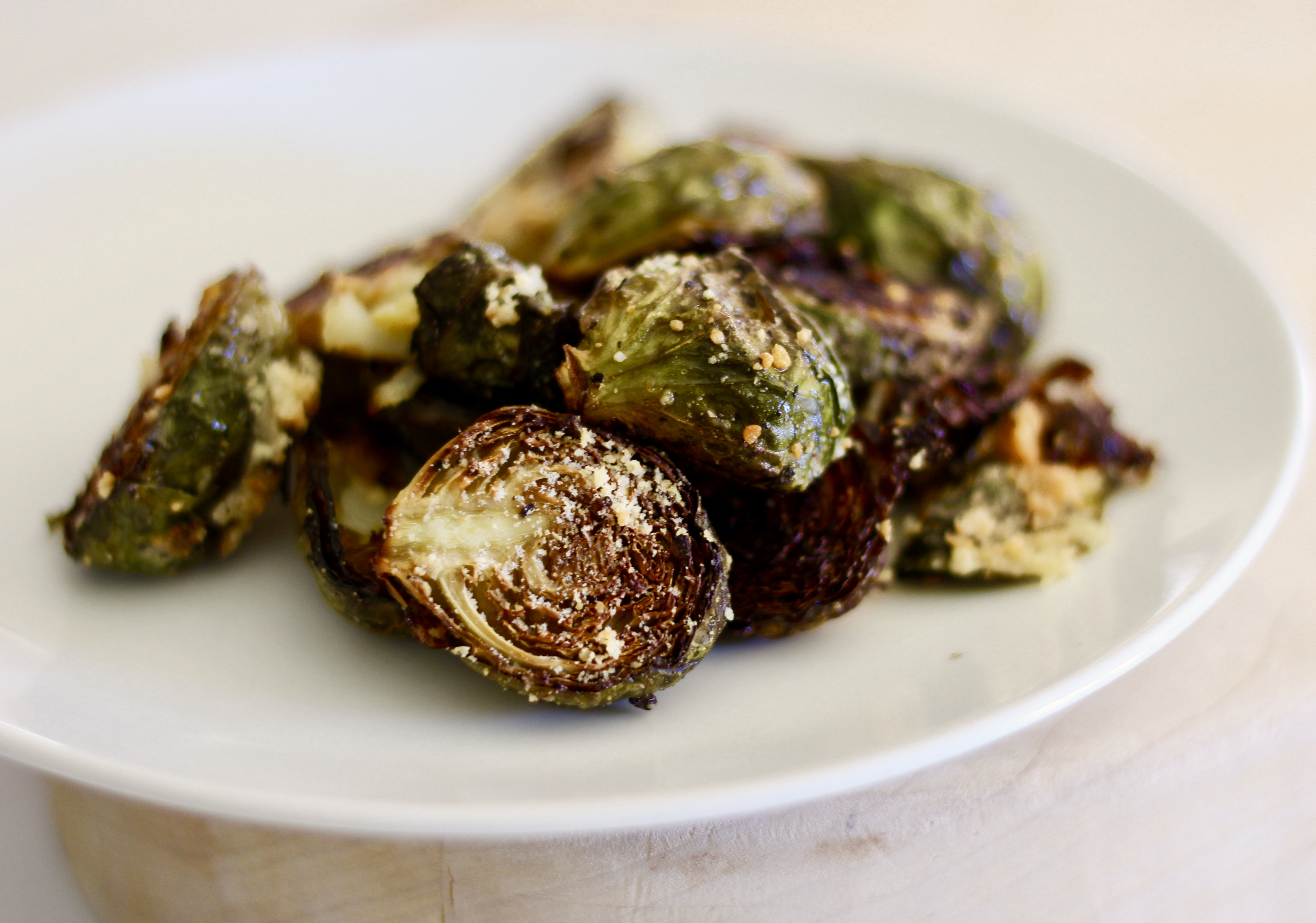 Garlic-Parmesan Roasted Brussels Sprouts