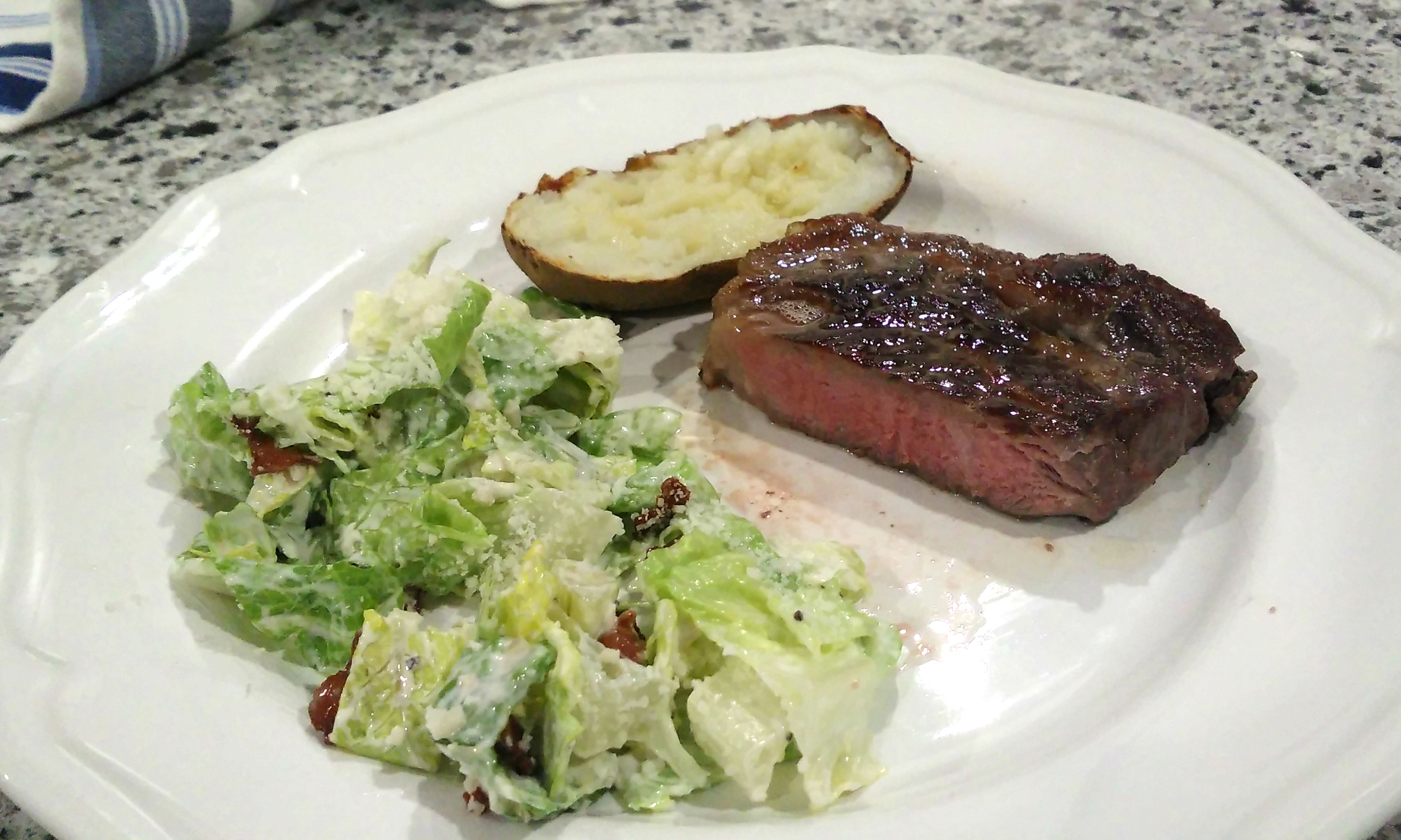 Sous Vide New York Strip Loin