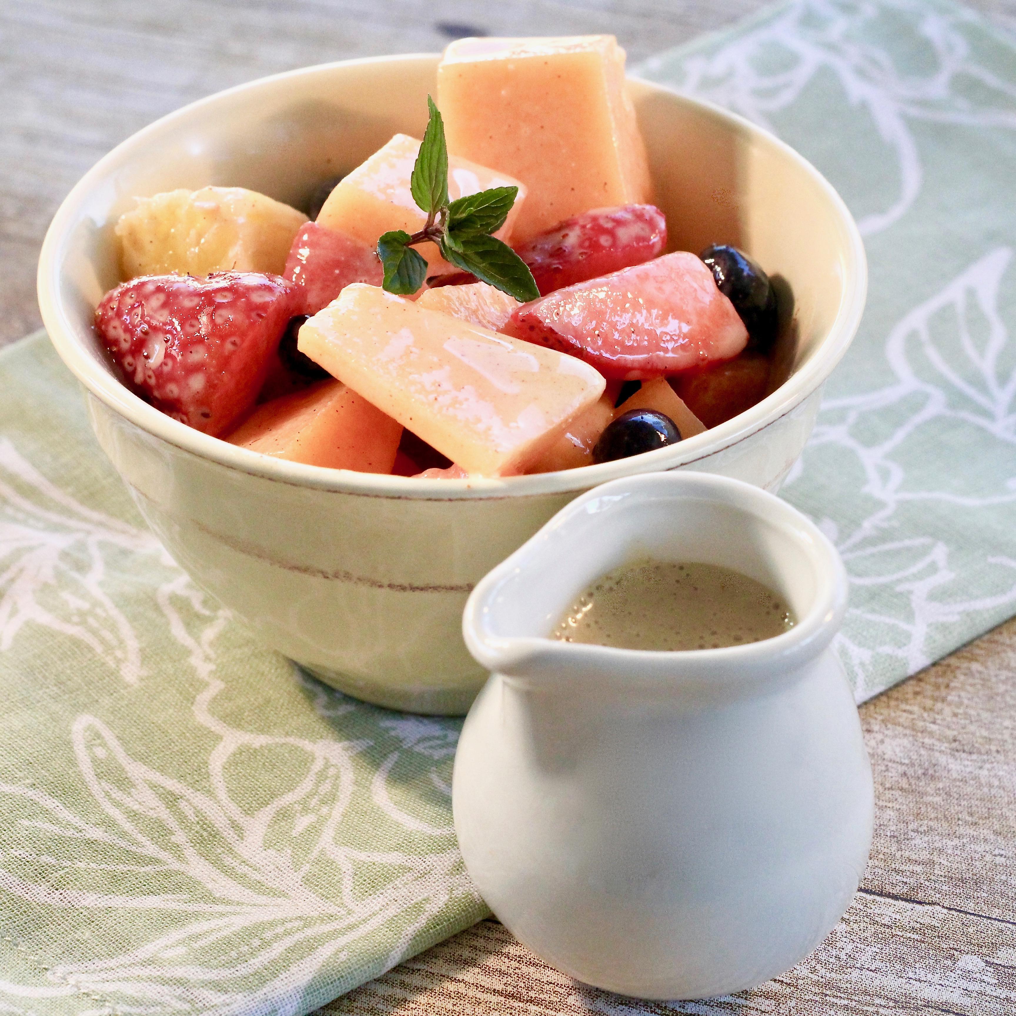 Sweet Dressing For Fruit Salad image
