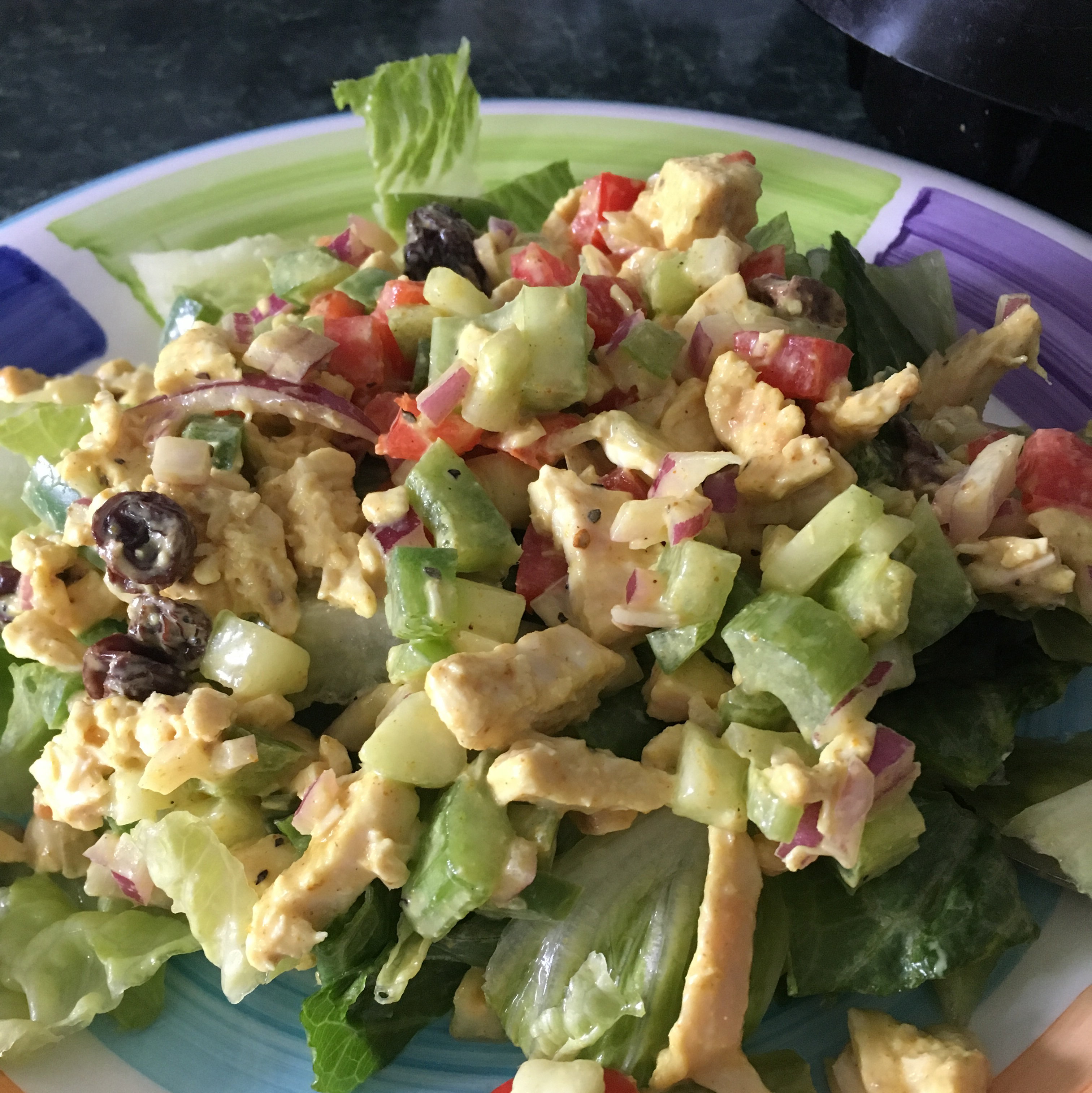 Fruity Curry Chicken Salad Mike