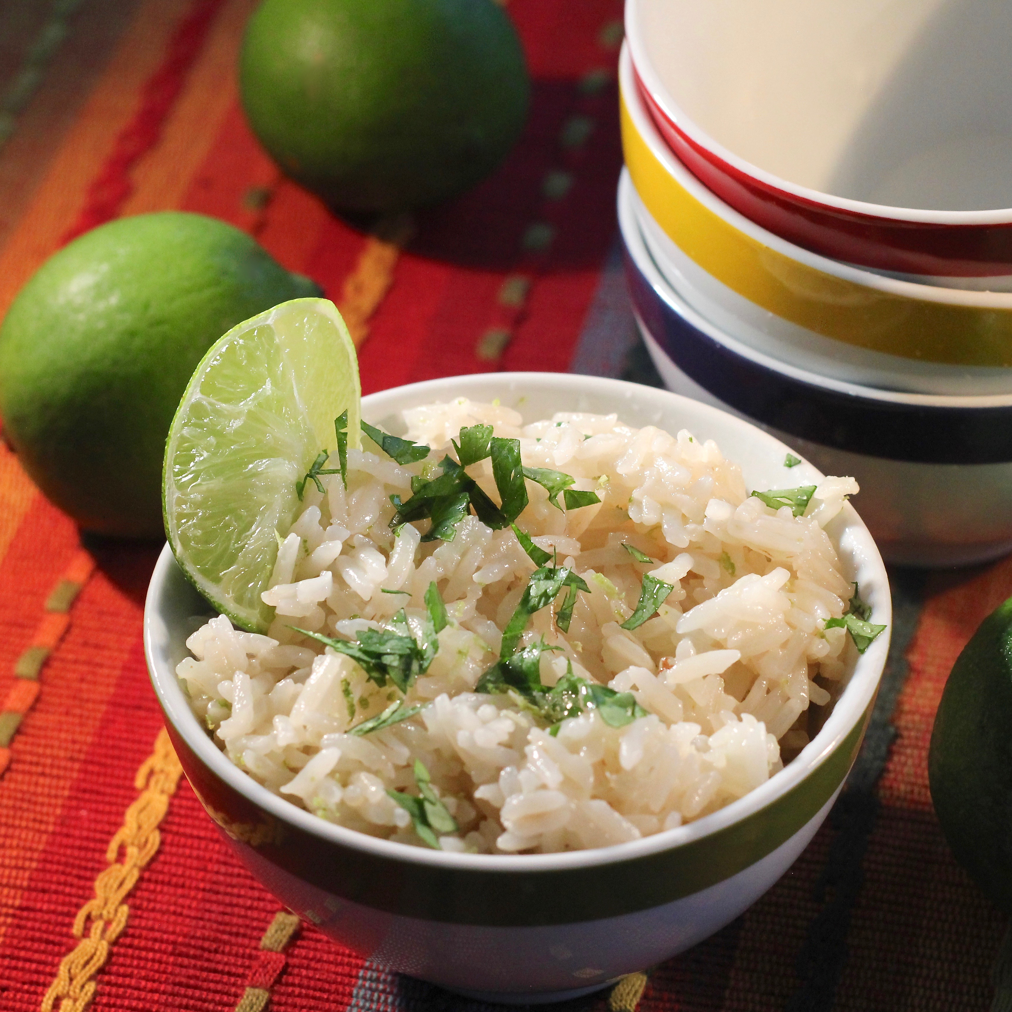 Instant Pot(R) Lime-Cilantro Rice