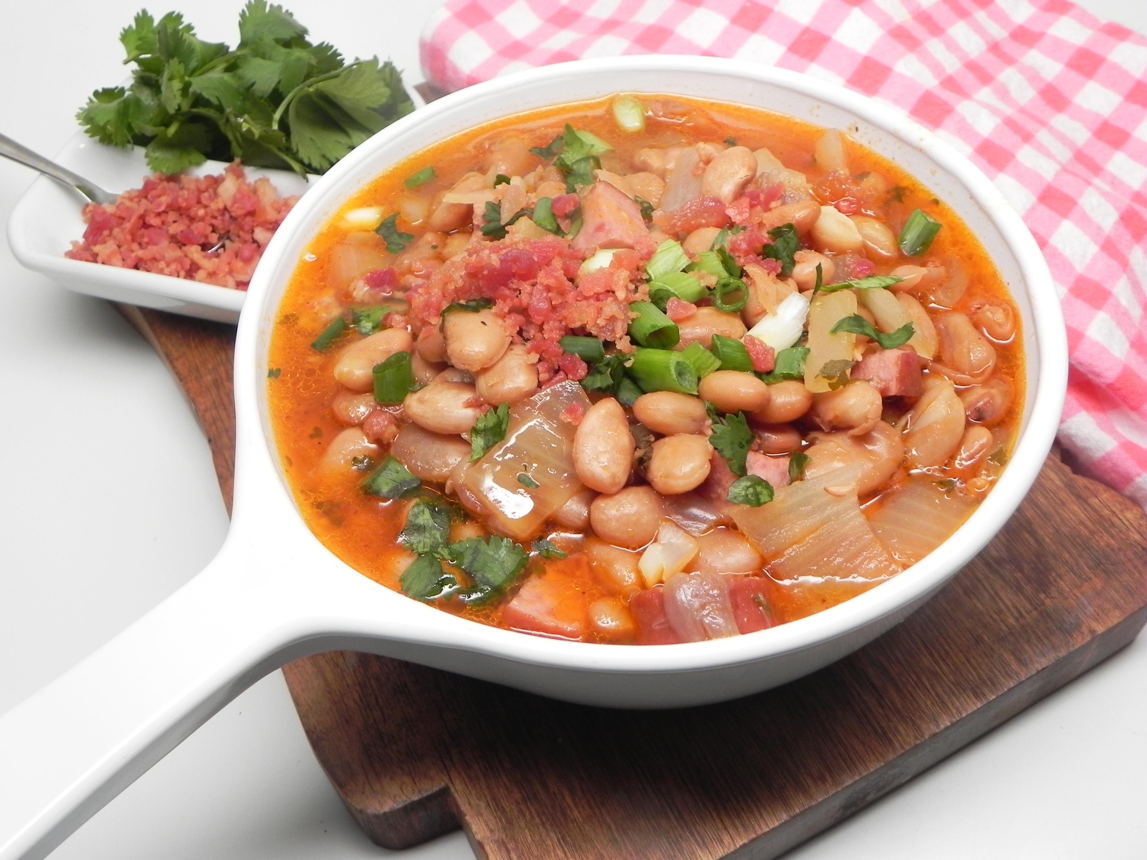 Instant Pot(R) Alcatra Feijao (Portuguese Bean Stew)