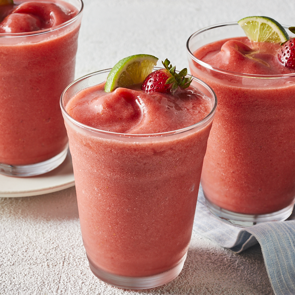 Nonalcoholic Strawberry Margaritas Ivy Odom
