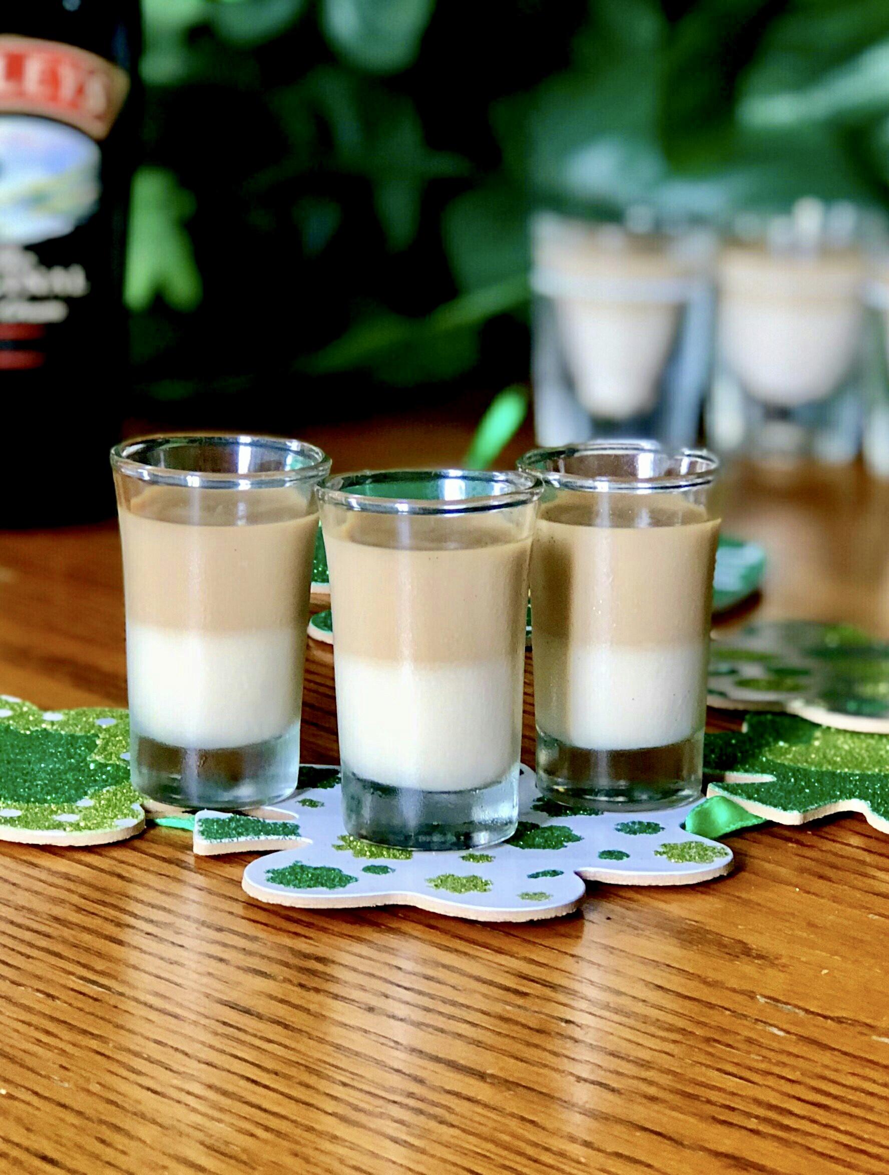 Baileys(R) and Coffee Jell-O(R) Shots