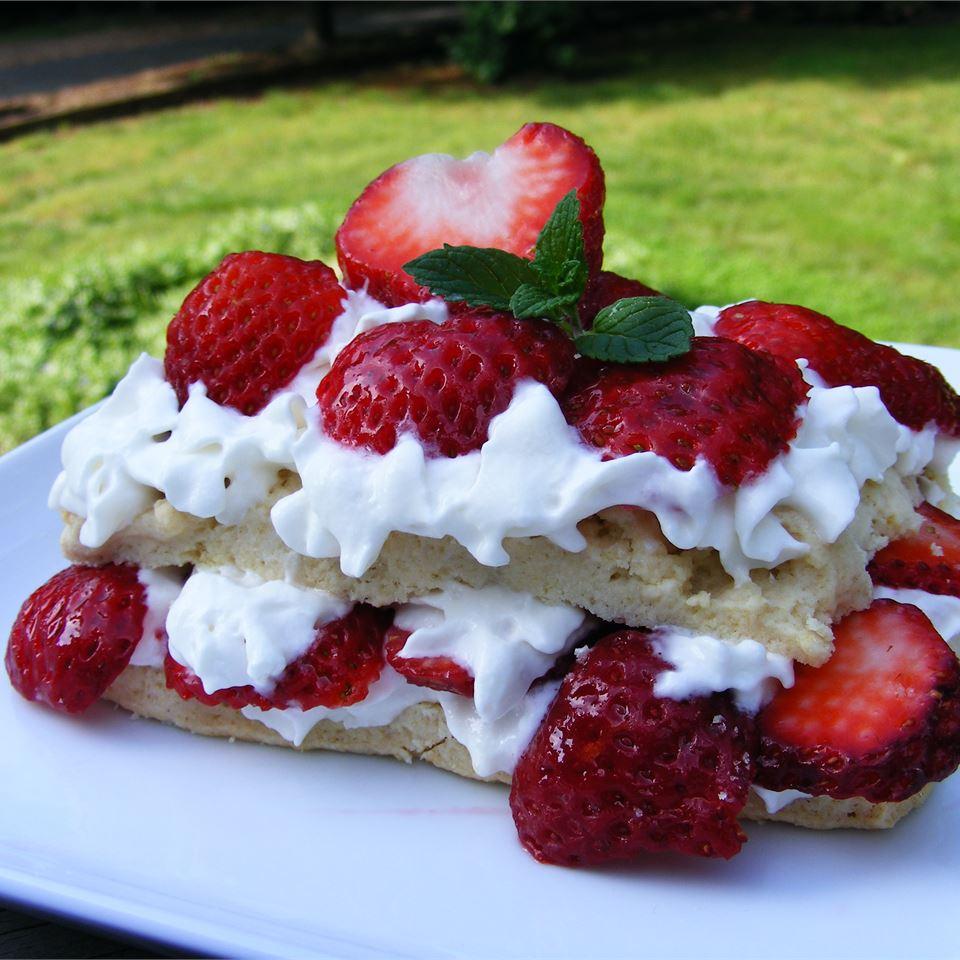 Scrumptious Strawberry Shortcake image