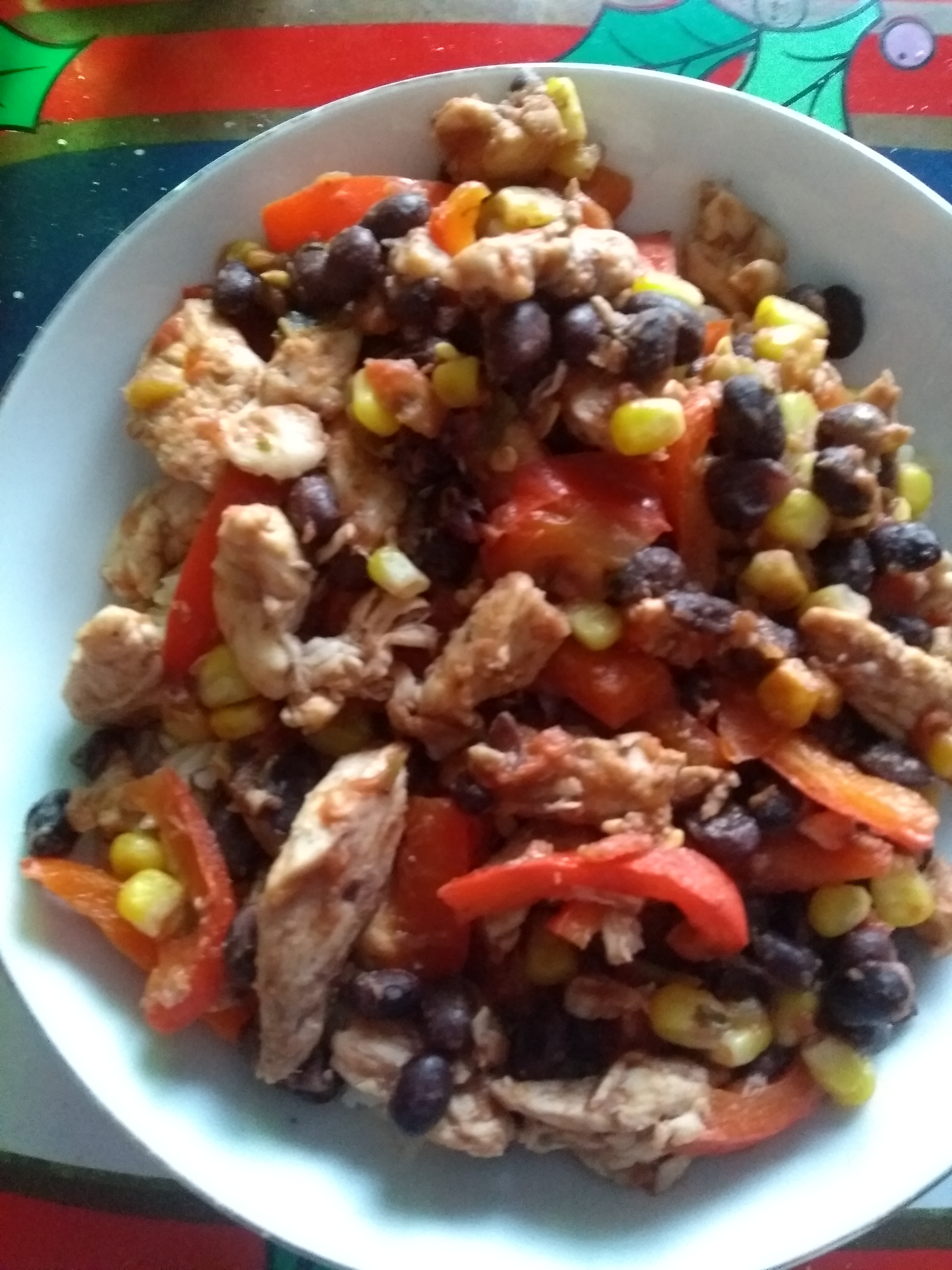 Baja-Style Chicken Bowl Melody Elsey