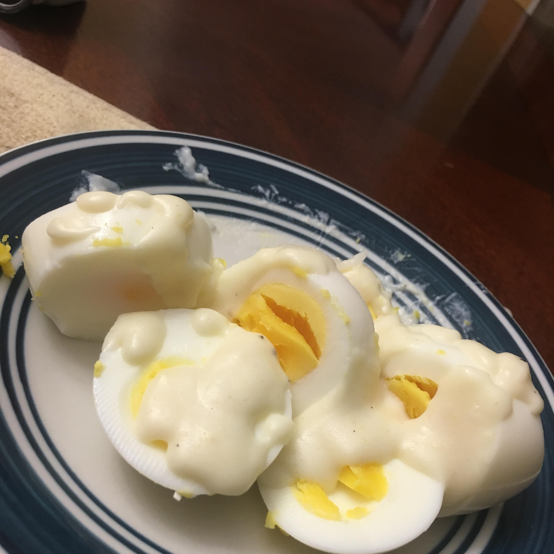 Creamed Hard Boiled Eggs Debora3346