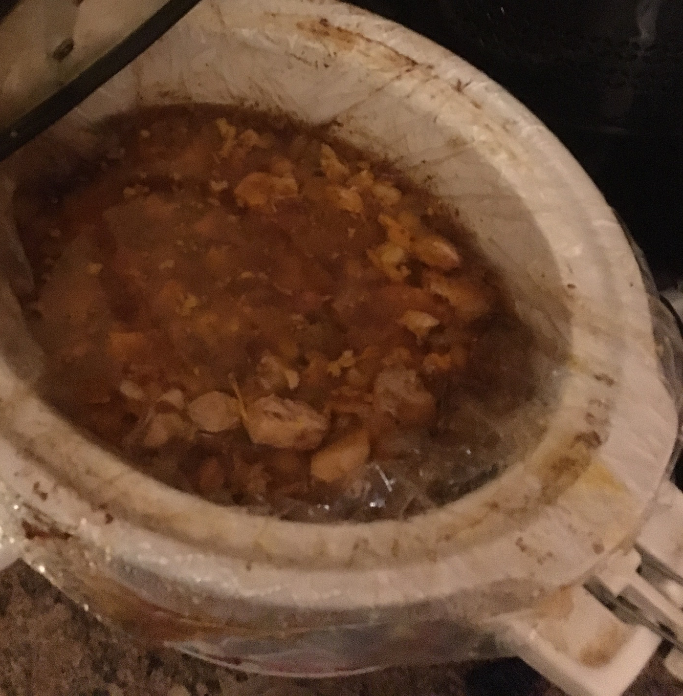 Slow Cooker Posole with Pork and Chicken missv210