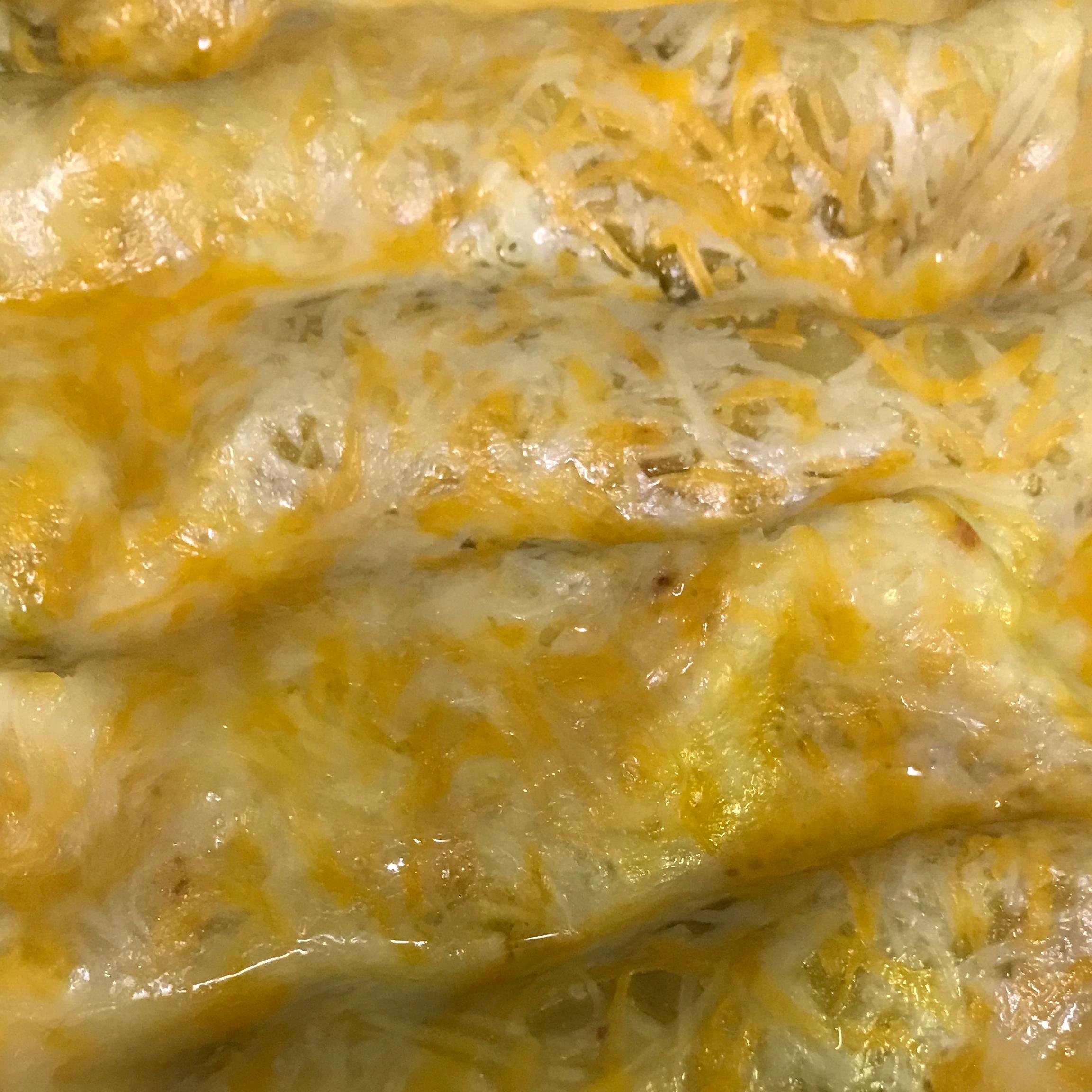 Green Chicken Enchilada Christy Scronce