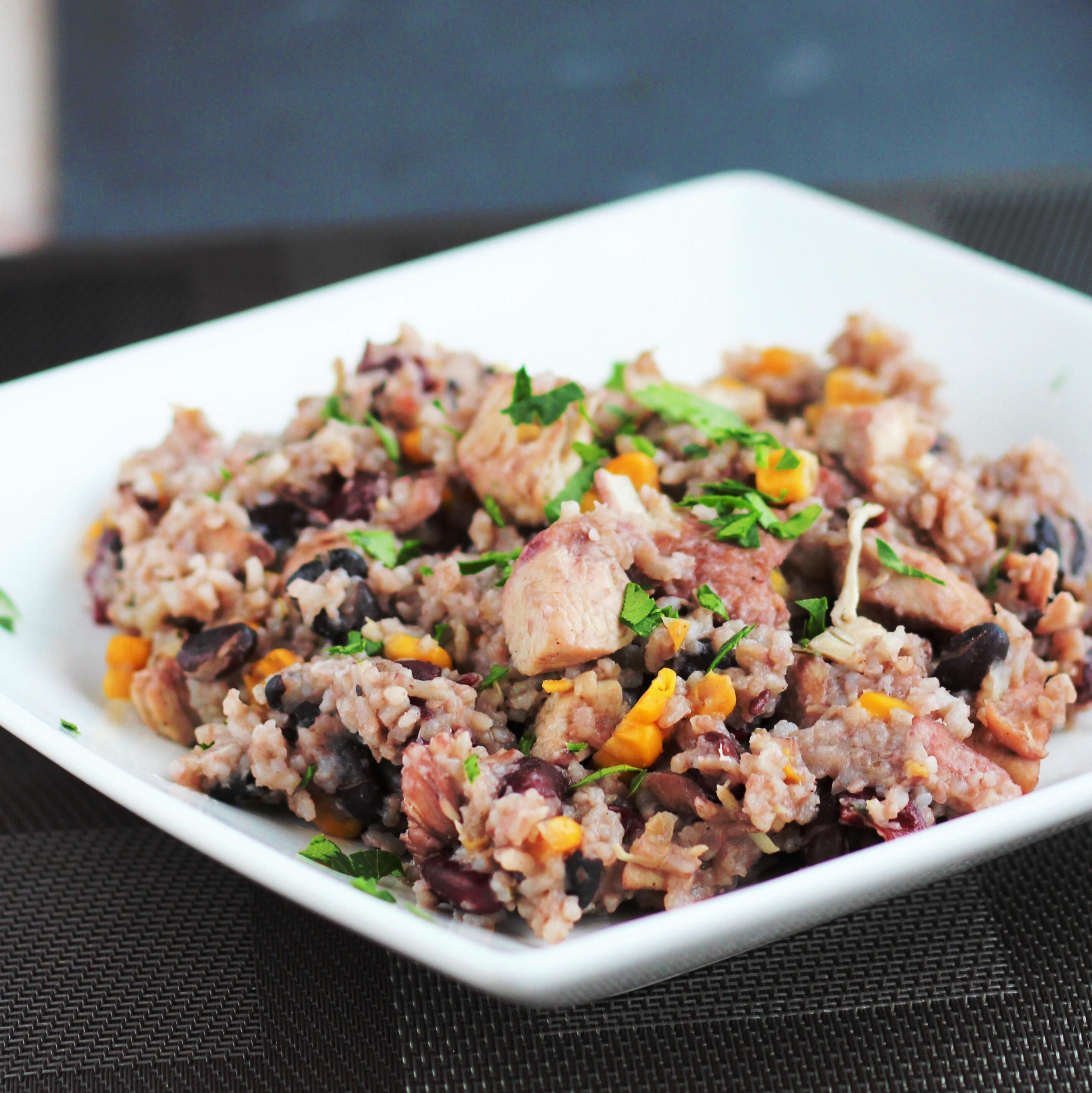 Instant Pot(R) Jamaican Rice and Beans Recipe