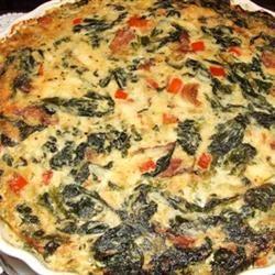 Eggless Tofu Spinach Quiche Sudarat Poonapirat