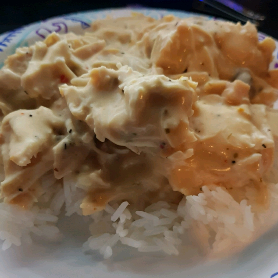 Jennie's Heavenly Slow Cooker Chicken Branndi