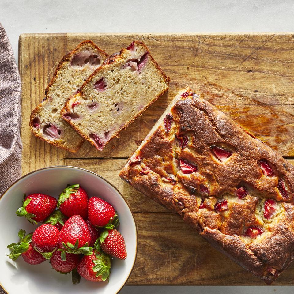 Strawberry-Banana Bread Paige Grandjean