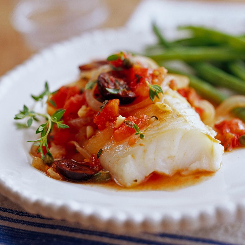 Provençal Fish Fillets Diabetic Living Magazine
