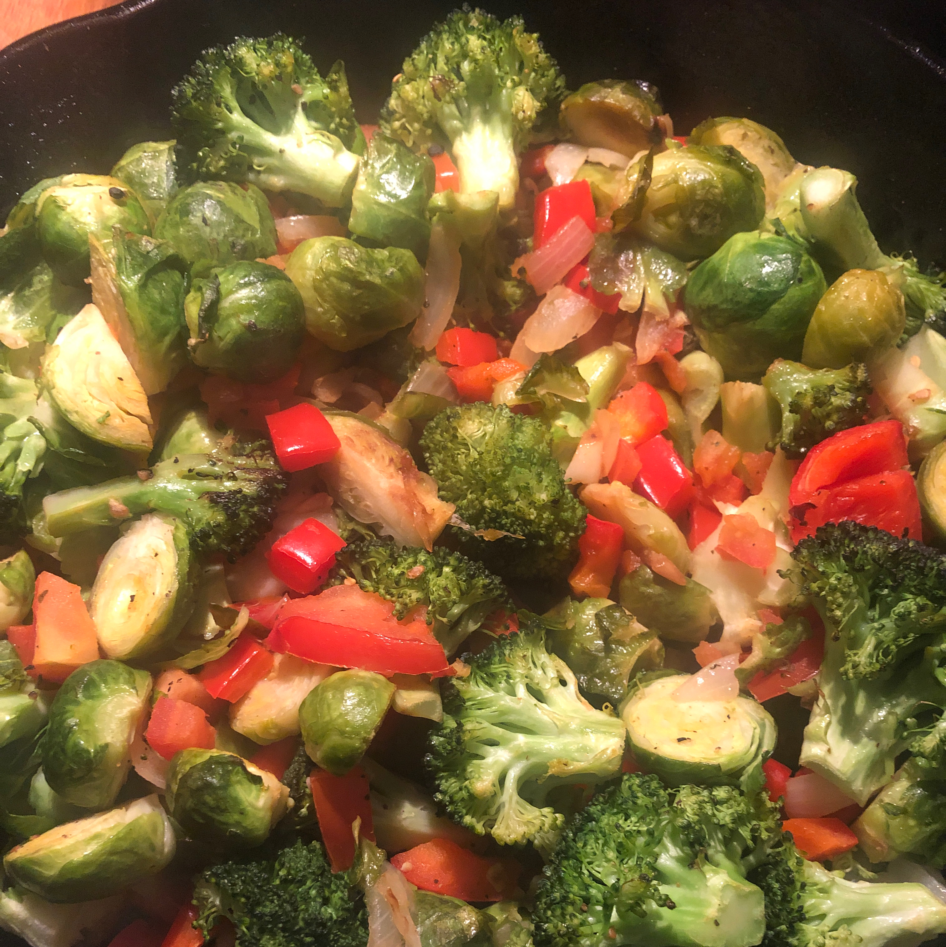 Broccoli and Brussels Sprout Delight blendabenda