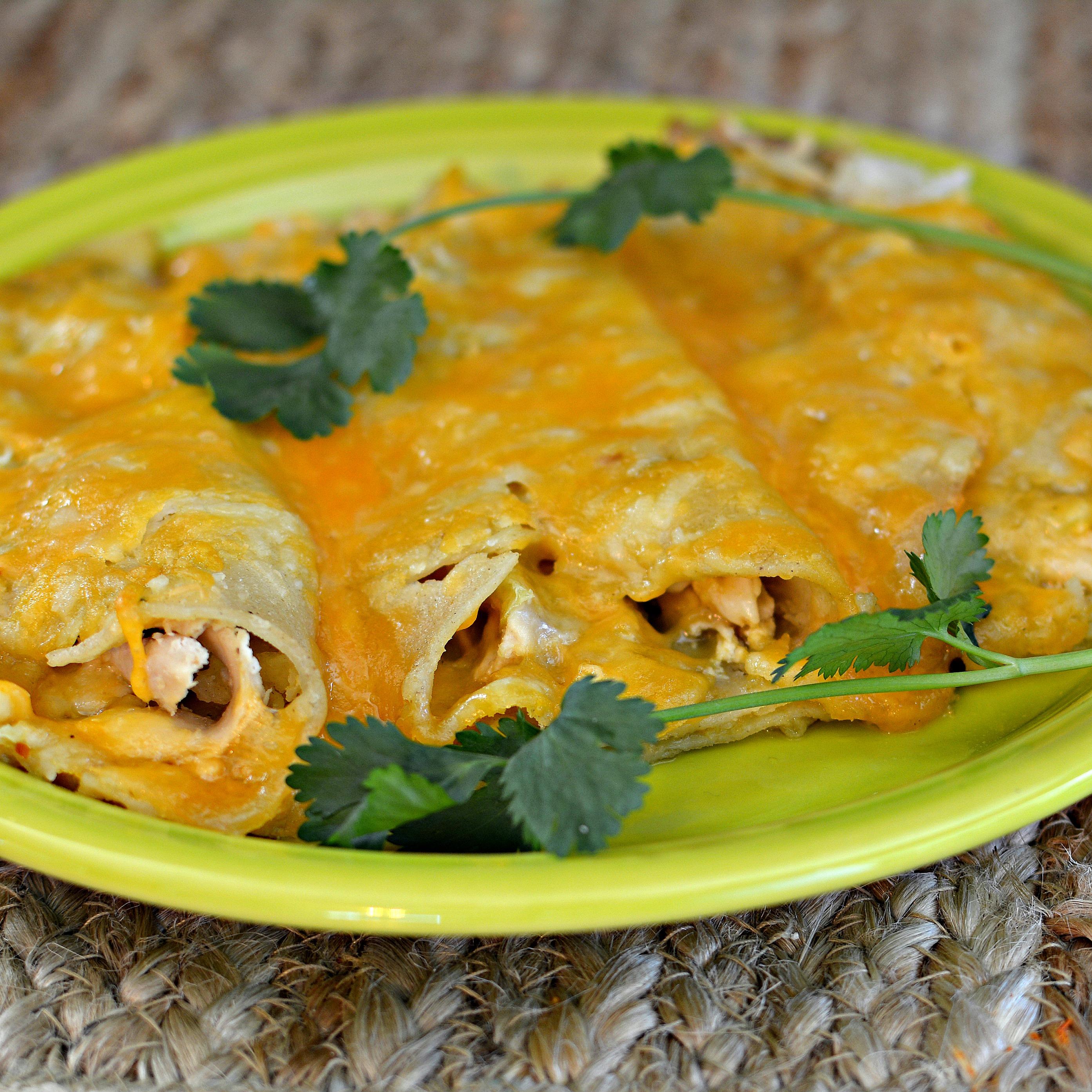 Instant Pot(R) Chicken Enchiladas Recipe