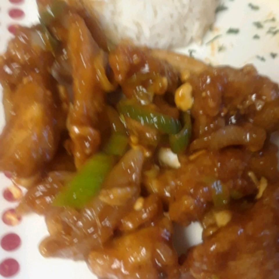 Kung Pao Chicken Stir-Fry Keisha Scott