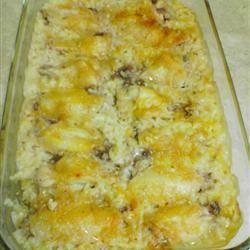 Busy Day Chicken Rice Casserole