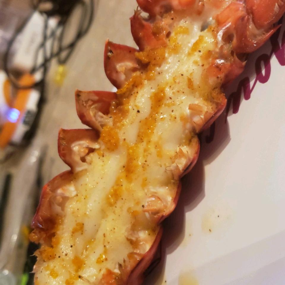 Orange-Scented Grilled Lobster Tails staceynutz