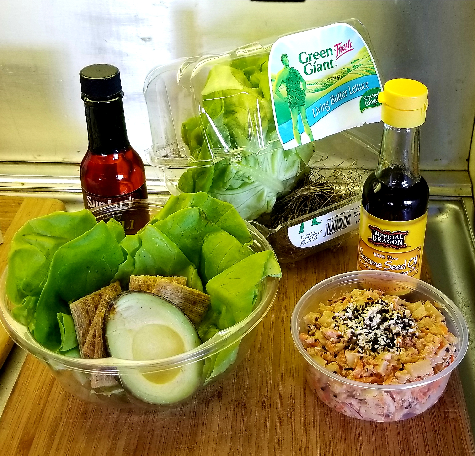 No-Cook Chicken Lettuce Wraps Karen Teague