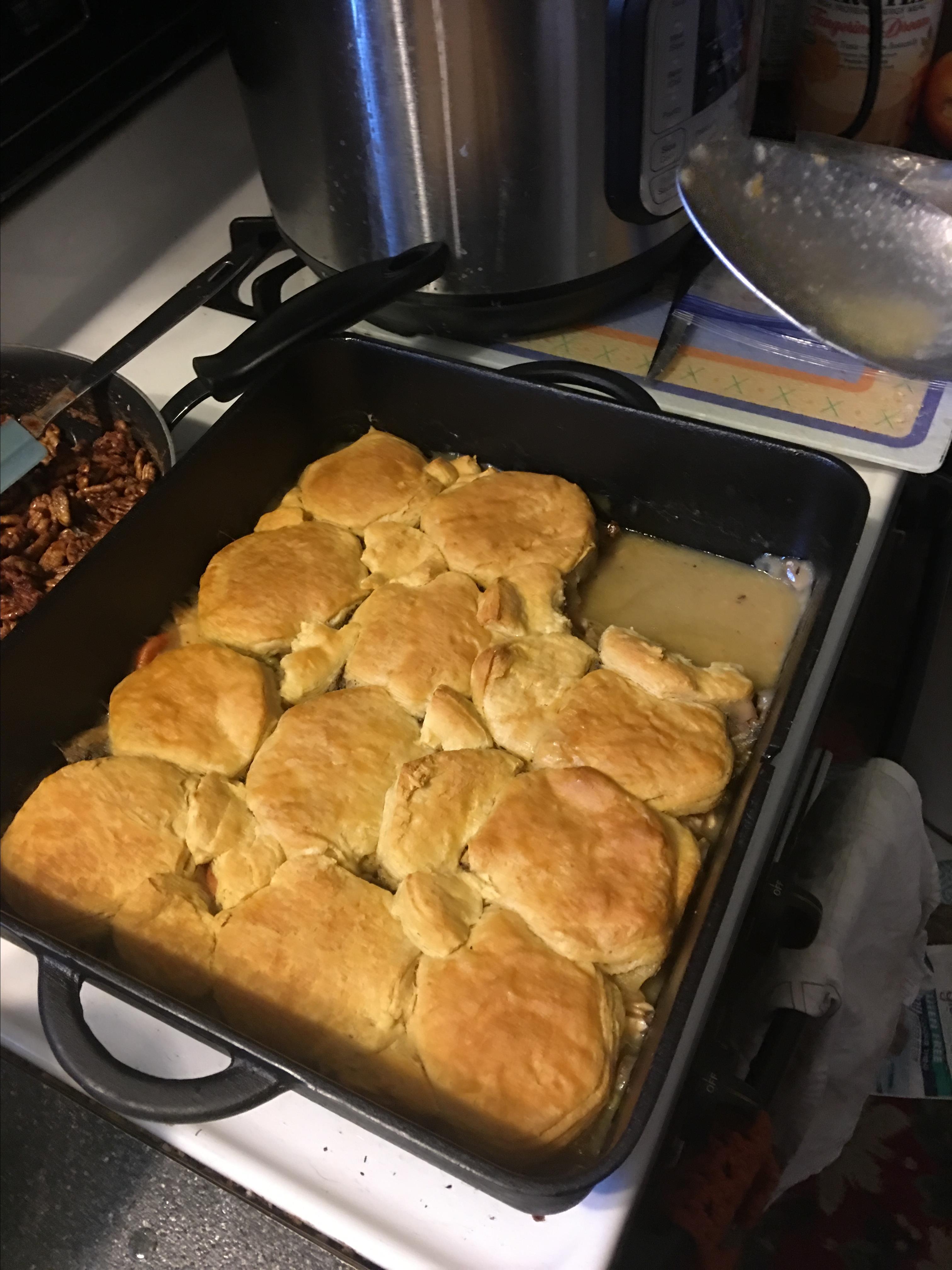 Easy A La King Biscuit Casserole