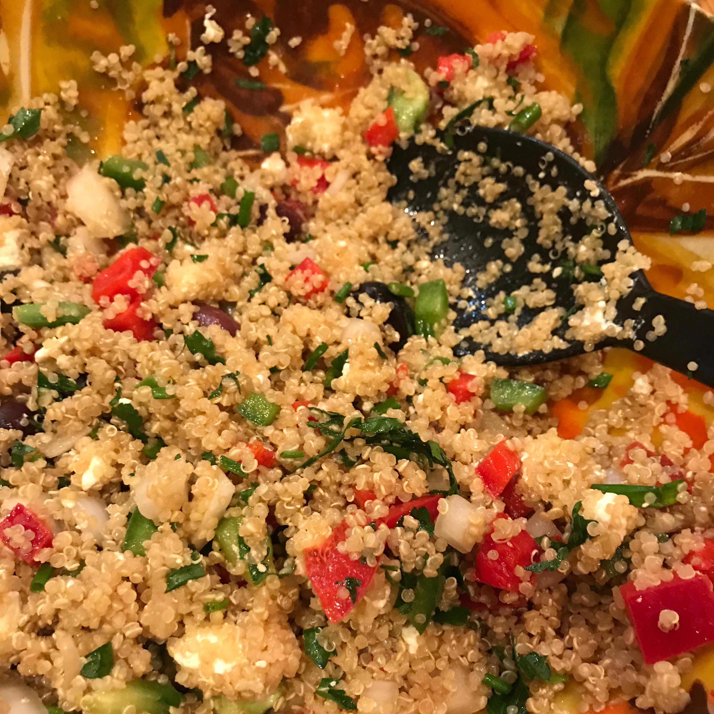 Mediterranean Quinoa Salad La