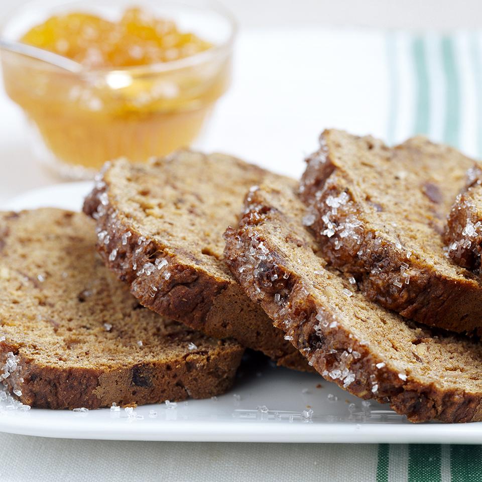 Date-Nut Bread Diabetic Living Magazine
