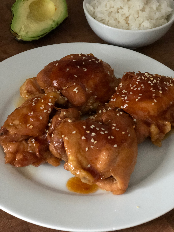 Instant Pot® Teriyaki Chicken Thighs