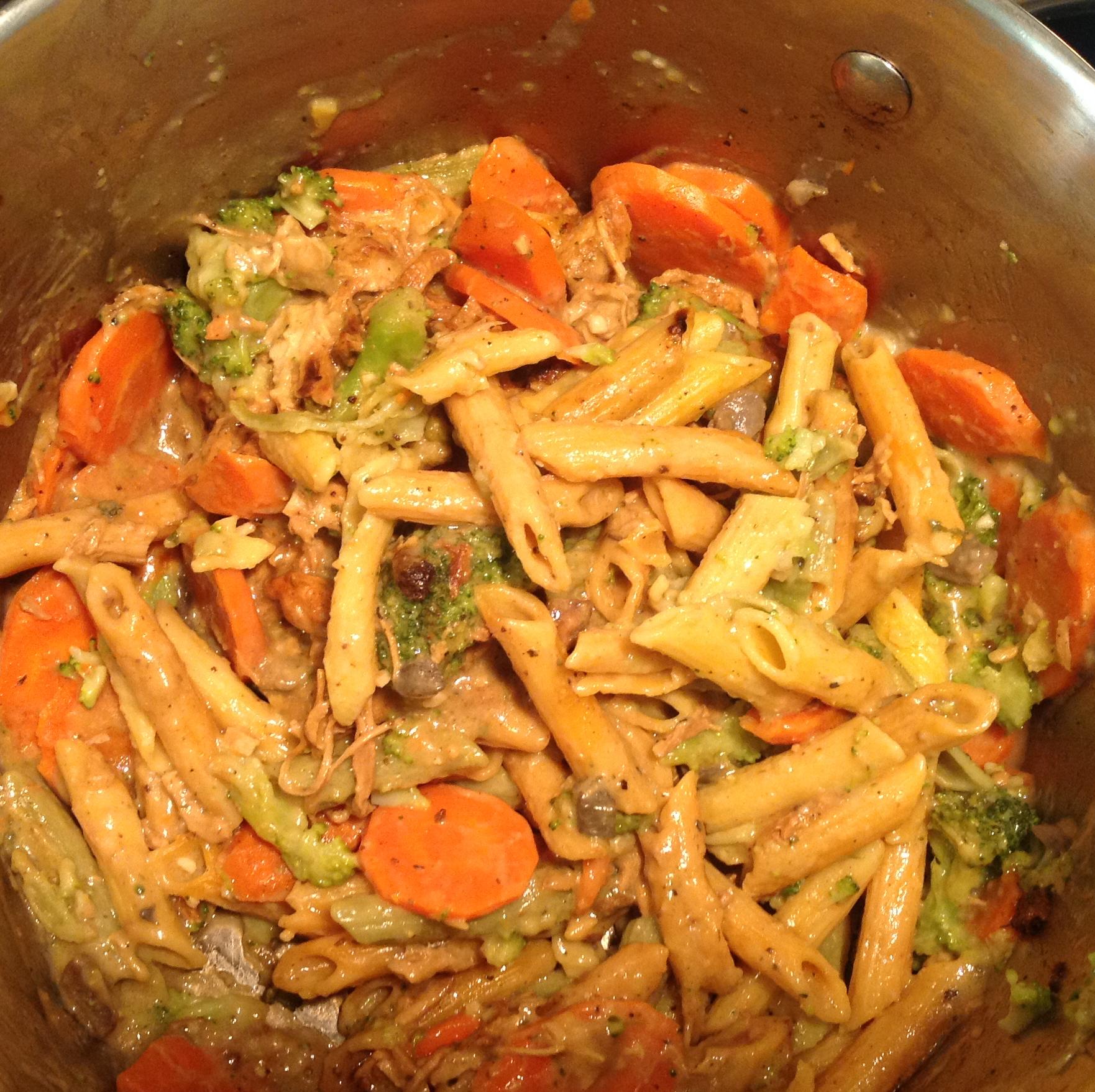 Chicken and Pasta Primavera mary.groesser@yahoo.com