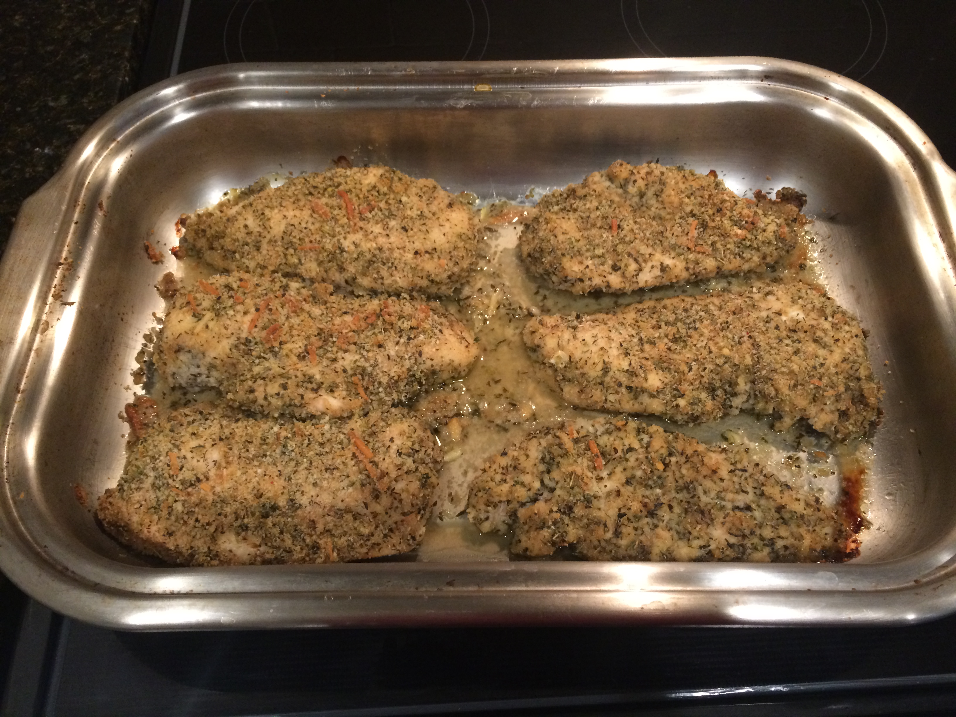 Baked Parmesan-Crusted Chicken Danny Battis